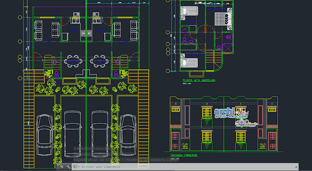 House CSN  85M2  in AutoCAD