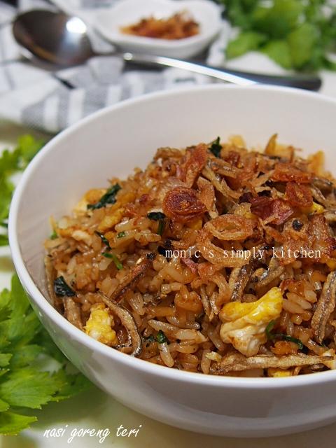 resep cara buat nasi goreng teri