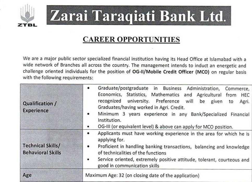 ztbl jobs 2018 apply online, ztbl jobs advertisement 2018, ots ztbl jobs, ztbl jobs grade 3, ztbl jobs Nov 2018, ztbl jobs og 3, www.ztbl.com.pk jobs 2018, ztbl jobs Nov 2018