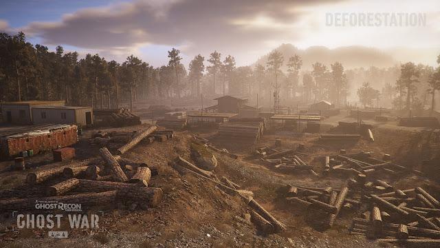 Ghost Recon Wildlands Deforestation