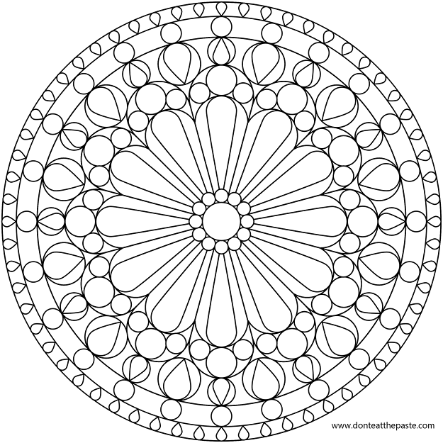Adult Coloring Pages Mandala With Iblbkt