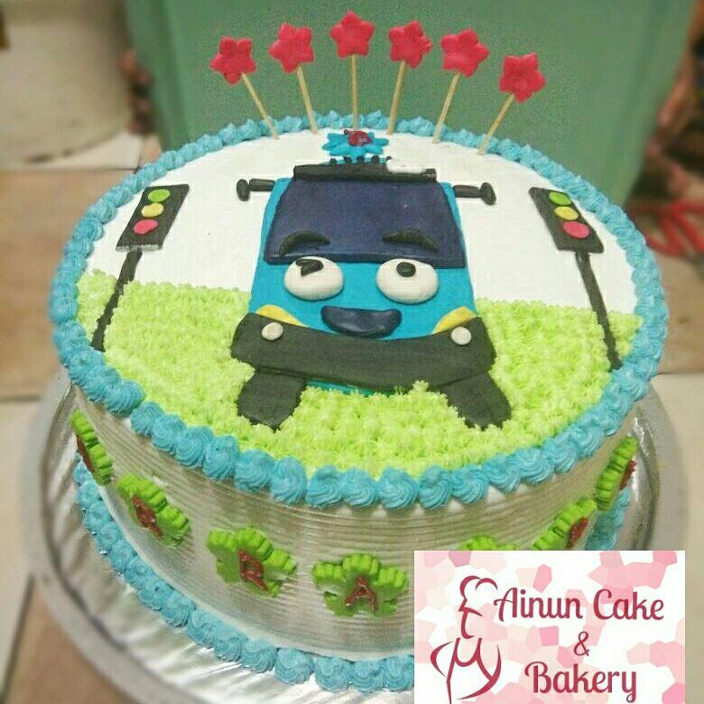 Ainun Cake N Bakery Kue Tart Tema Kartun Tayo Custom Karakter