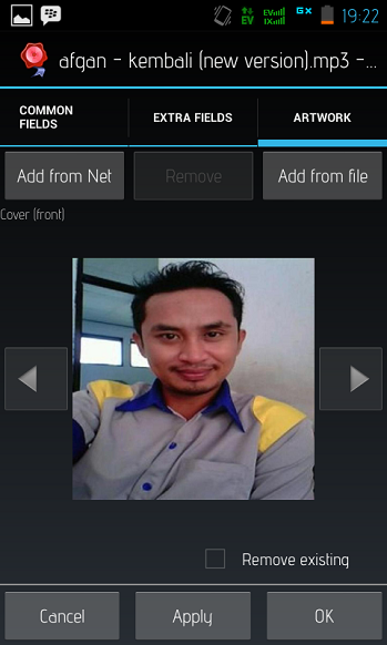 Cara Buat/Edit Cover Album MP3 Di Android
