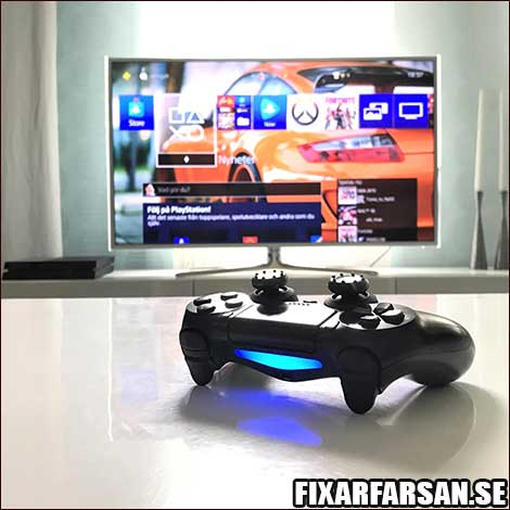 PS4-Handkontroller-Bakgrund
