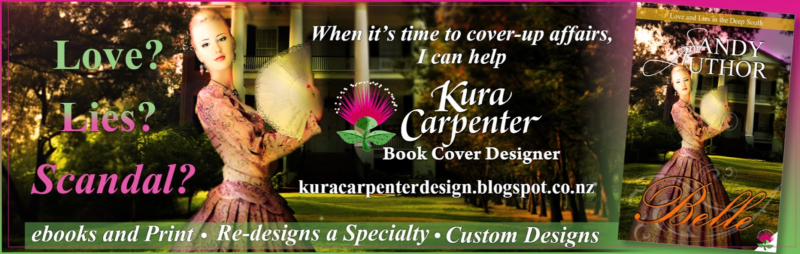 Kura Carpenter Book Cover Design