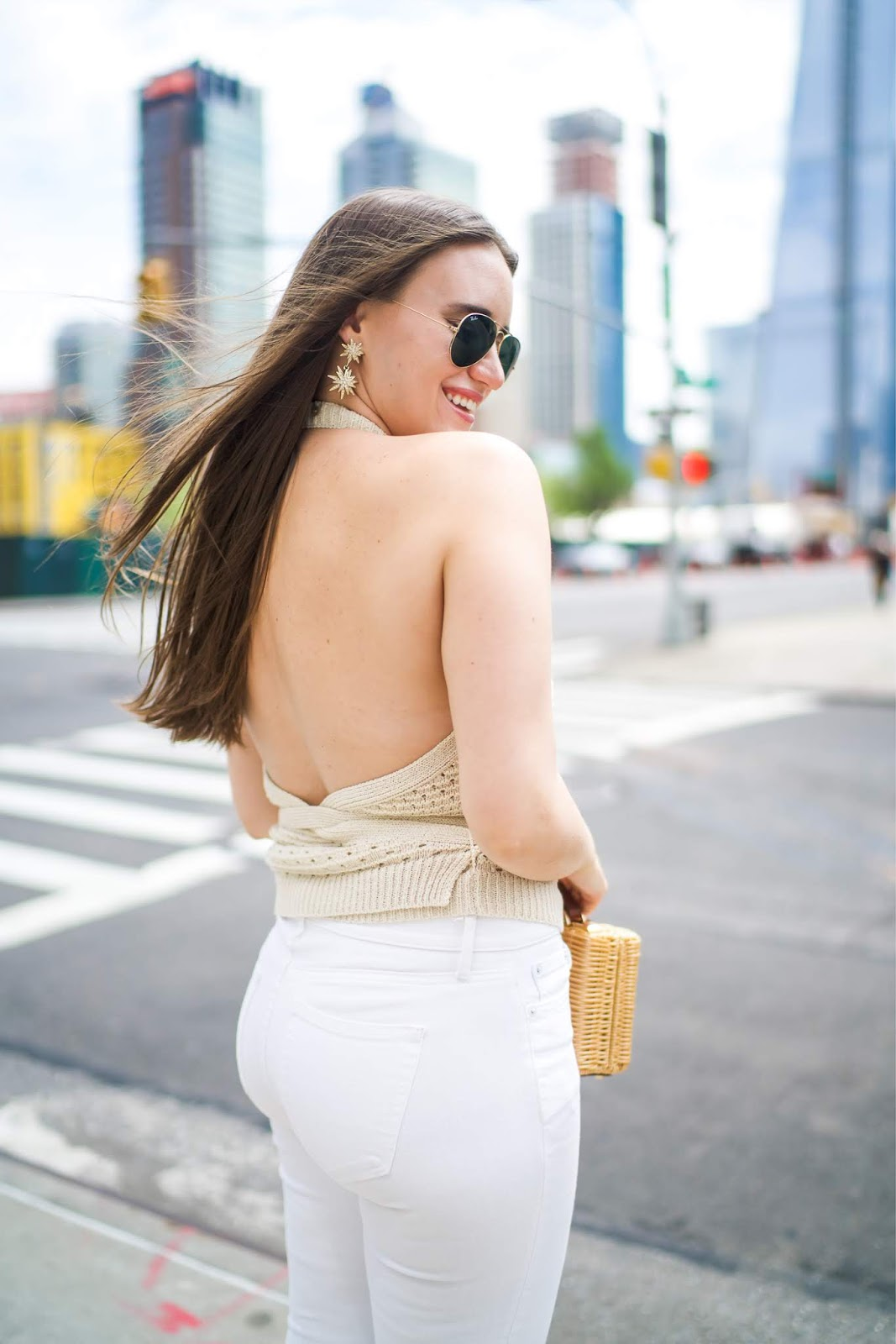 popular New York fashion blogger, Covering the Bases