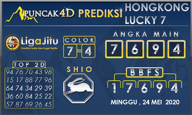 PREDIKSI TOGEL HONGKONG LUCKY 7 PUNCAK4D 24 MEI 2020