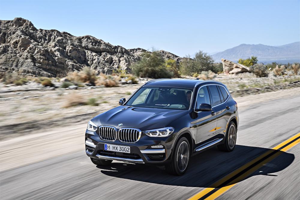 Data Uscita nuova BMW X3 2017, quando esce? Presentazione, prezzi e motori