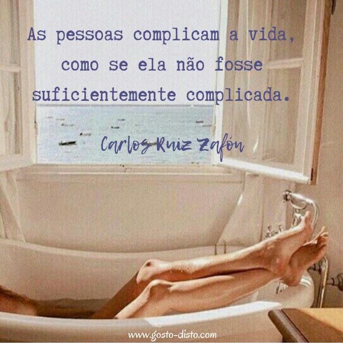 Frase de Carlos Ruiz Zafón