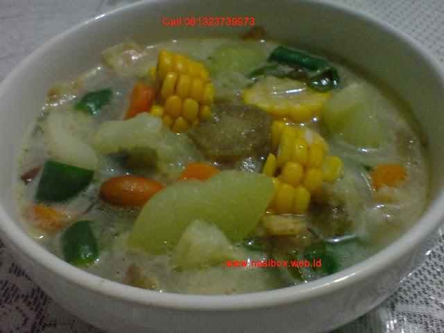 Resep sayur lodeh nasi box cimanggu ciwidey