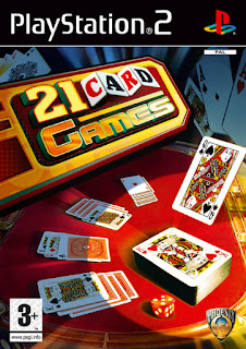 21 Card Games PS2
