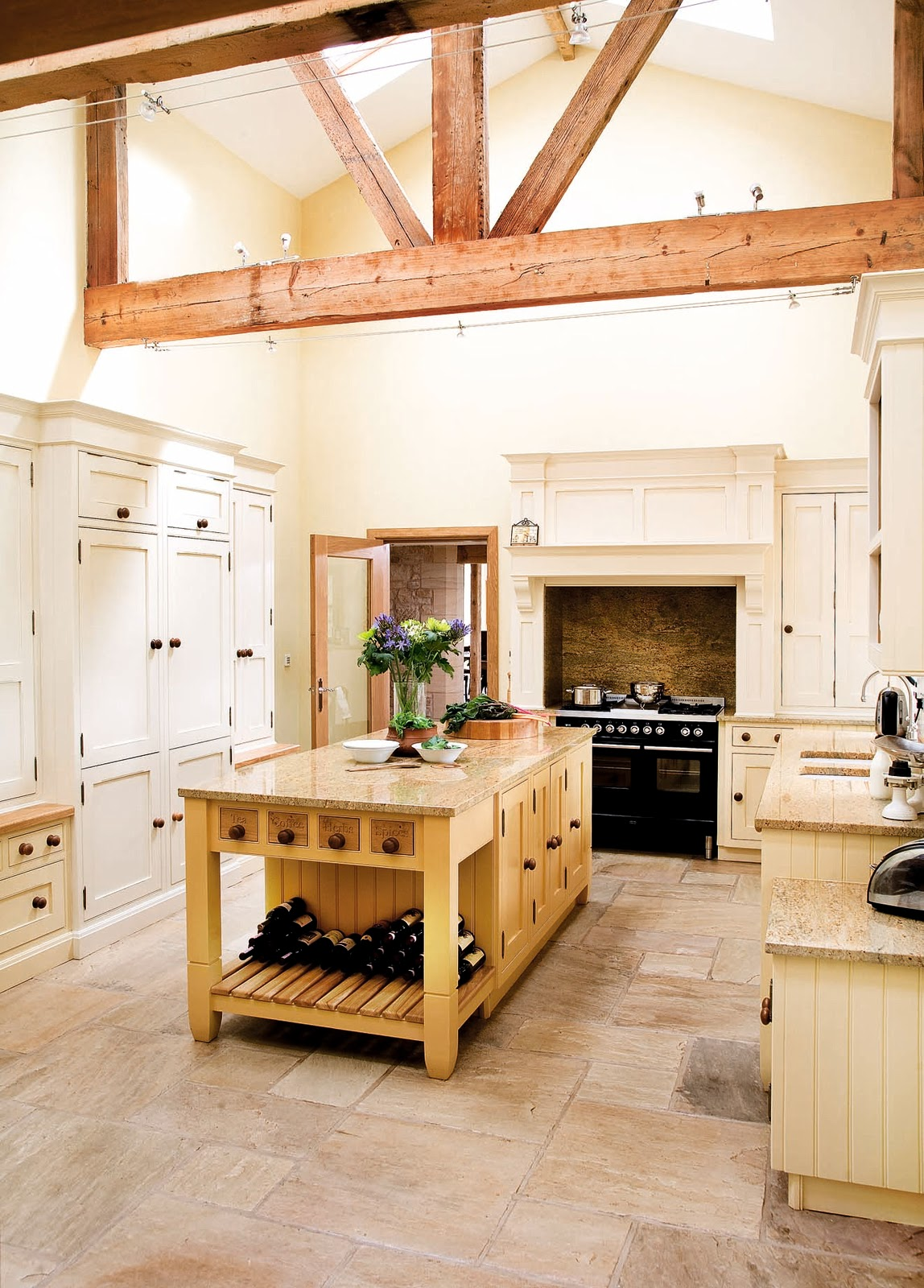 Modern Country Style: Modern Country Kitchen