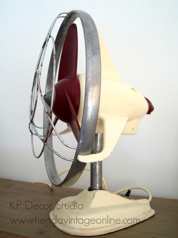 Comprar un ventilador antiguo en tiendas vintage valencia