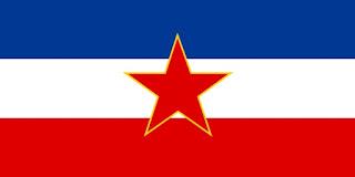 Yugoslavia, bandera Yugoslavia, YUG,