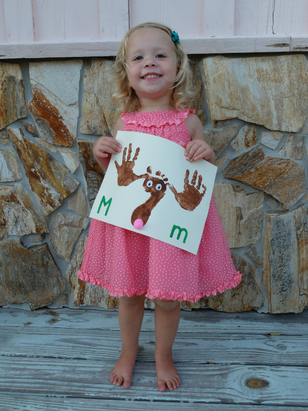 Sweet Turtle Soup: Teaching Together Blog #5 - Hand print and foot print animal ABCs