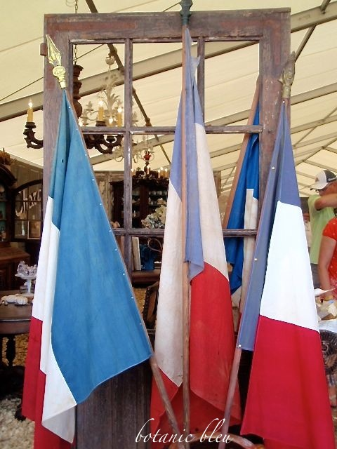 three-vintage-french-flags