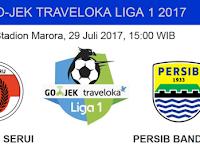 Prediksi Perseru vs Persib Liga 1 2017