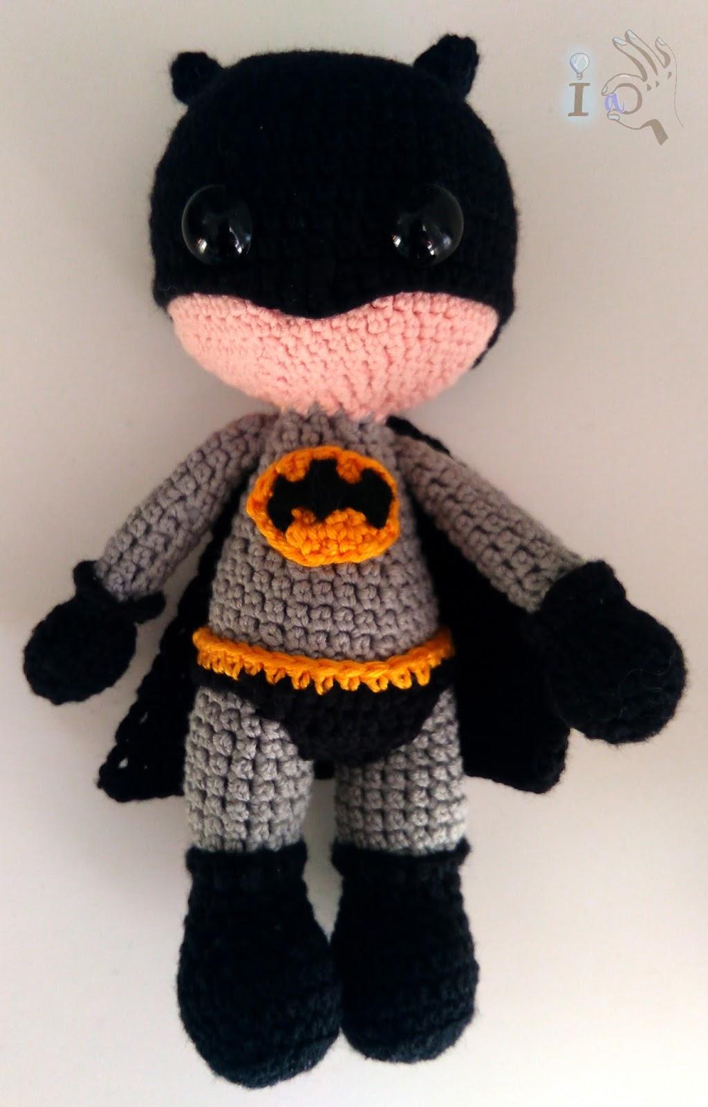 Ideadoamano: Amigurumi de Batman