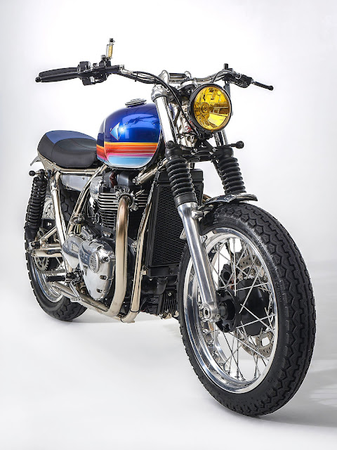 Triumph T100 By FCR Original Hell Kustom