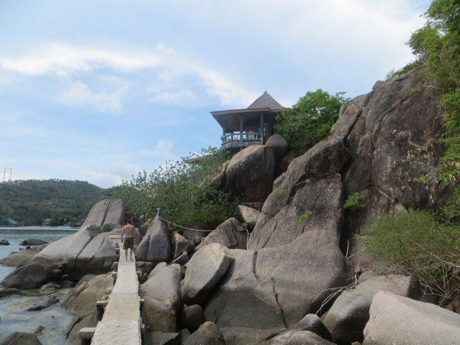 Мост через камни