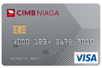 Limit Kartu Kredit CIMB Niaga, Classic, Gold, Platinum