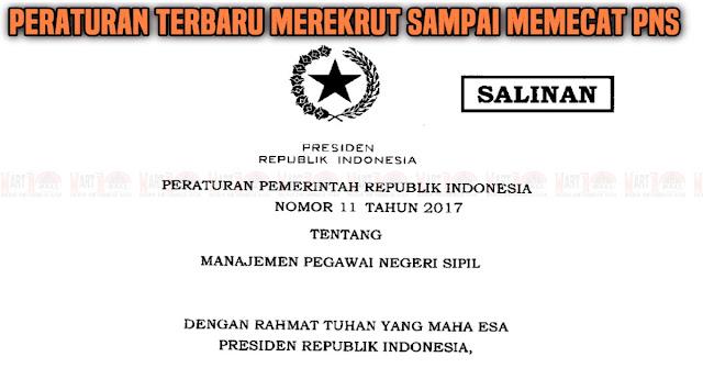 Jokowi Keluarkan Aturan Baru Soal Manajemen PNS, Dari Merekrut Hingga Memecat