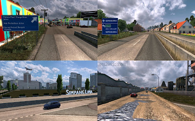 Map D'Java ETS2 V1.28