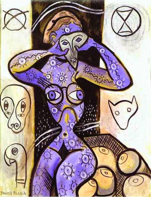 Peitos - Francis Picabia e suas pinturas ~ O pintor que também era poeta