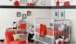 Χρώμα για παιδικό δωμάτιο-κόκκινο