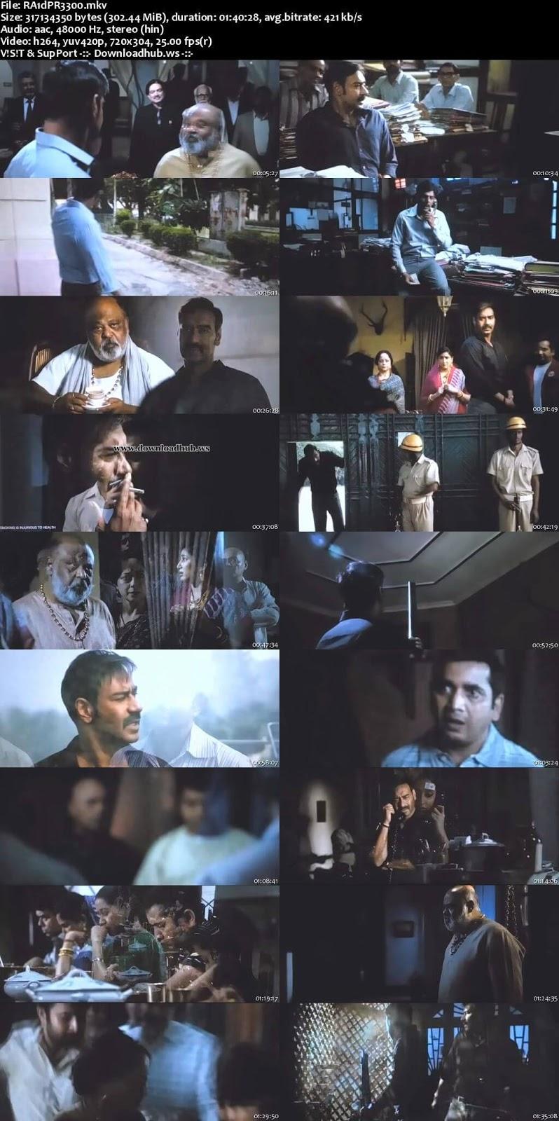 Raid 2018 Hindi 480p Pre-DVDRip