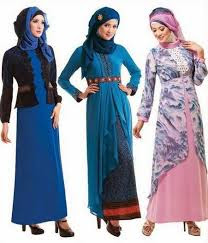 Model Baju Gamis Untuk Wanita Langsing Kurus Trend Kekinian