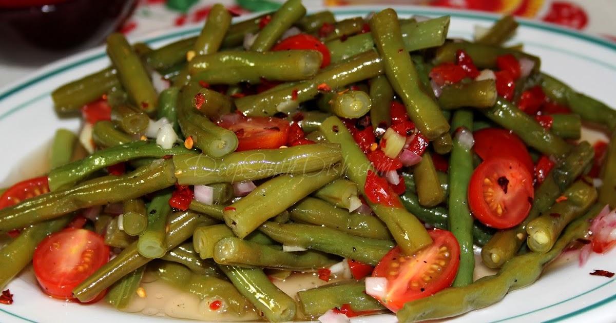 Deep South Dish Cold Green Bean Salad-6689