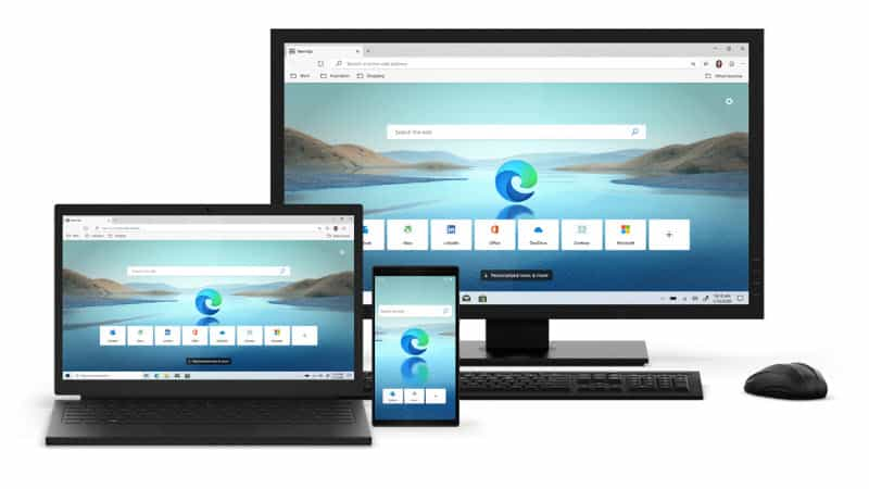 The new Microsoft Edge (chromium) browser is now available for download