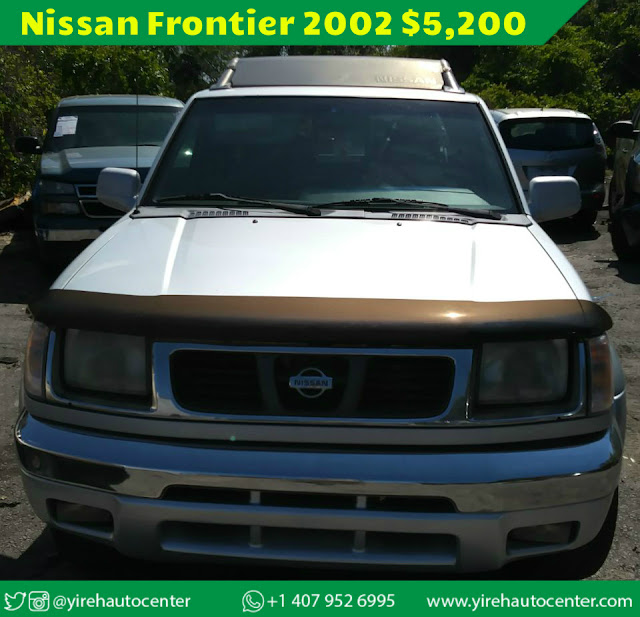 Nissan Frontier 2002 - Yireh Auto Center
