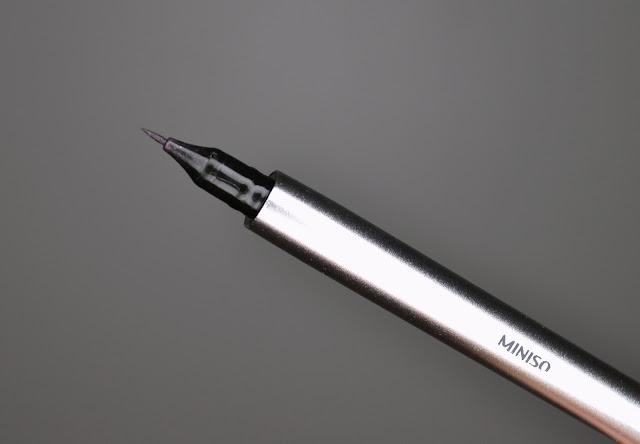 Miniso Eyeliner Review