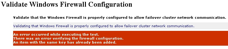 Happy SysAdm: Cluster Validation Error due to duplicate NIC GUIDs