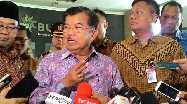 JK: Cawapres Jokowi pada Pilpres 2019 Bukan Saya