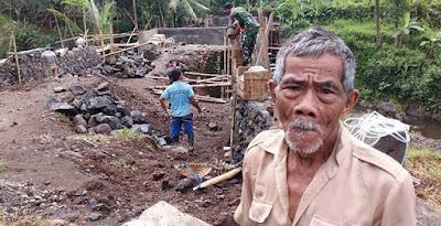 ''Terimasih TNI, Kalau Mau ke Sawah Kini Lancar''
