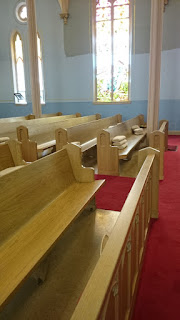 pews to be removed