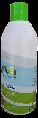 Composição Shampoo Espuma Leve DNA do Cacho Salon Embelleze