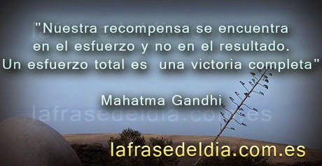 Frases famosas de Gandhi