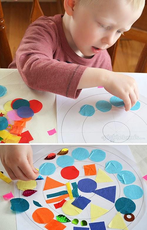 10 collages para hacer con ni os padres for Aprendemos jugando jardin infantil