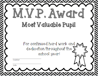 Head Over Heels For Teaching: End of Year Student Awards