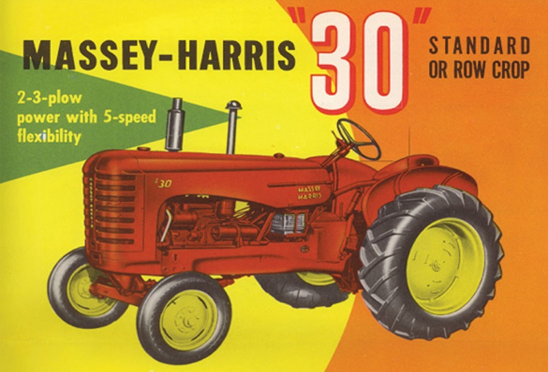 Tractores En 143 Taller El 22 Massey Harris 30 K 1949