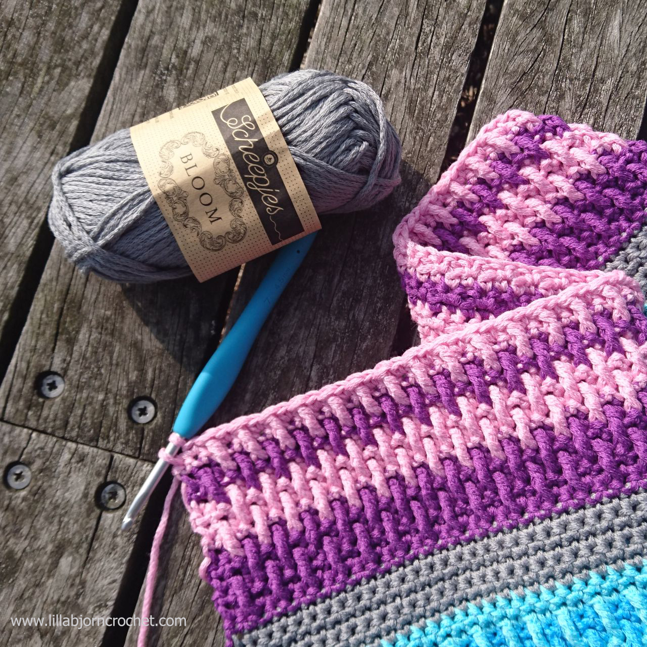 About Yarn Retreat in Malmö and New Design | LillaBjörn\'s Crochet World