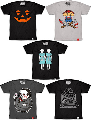 Johnny Cupcakes Halloween 2016 T-Shirt Collection