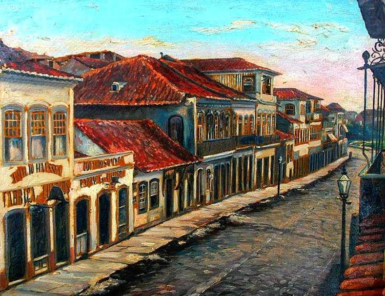 Porto Alegre: Rua da Praia (Andradas), em 1890