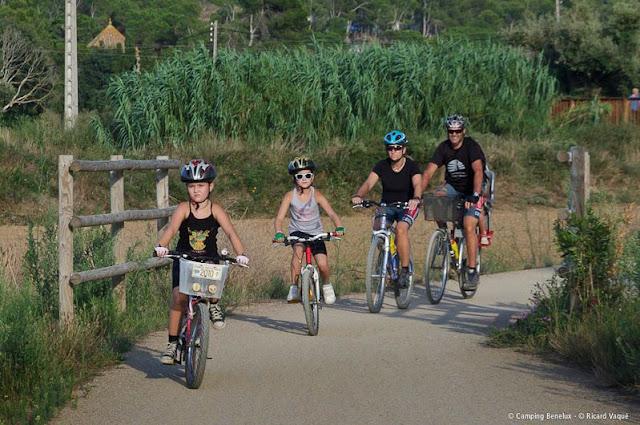 fietsen aan de Costa Brava