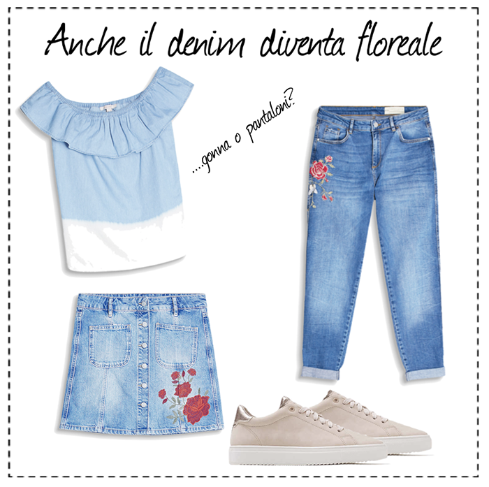 idee outfit stampe floreali