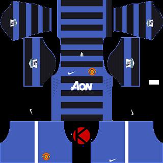 Manchester United Kits 2012/2013 - Dream League Soccer